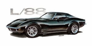 1969 Corvette L-88 ©2015 Image - Design Factory