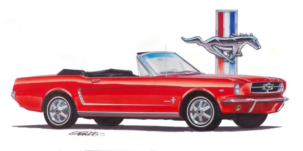 1965 Mustang Convertible ©1994,2018 Image - Design Factory