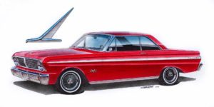 1965 Falcon Sprint ©2012, 2018 Image - Design Factory