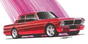 1965 Falcon 2-dr Sedan Project Car ©1996 Image - Design Factory
