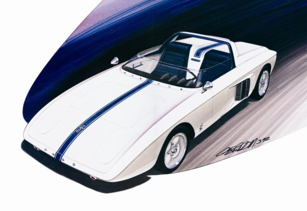 1962 Mustang I Concept ©1992 Image - Design Factory